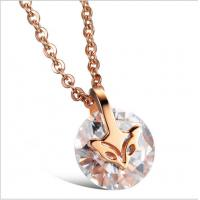 Wholesale Drjobson Jewelry rose gold titanium steel necklace-N01 from china suppliers
