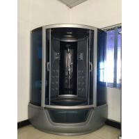 Wholesale ABS Material steam double shower cabin with tray ,  150 X 150 X 220 / cm complete shower cabins from china suppliers