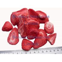 Buy cheap Freeze Dried Strawberry Chips Snack survival food camping food convenient food from wholesalers