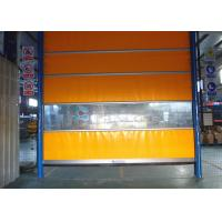Wholesale Inside Outside Full Transparent PVC Window High Speed Roll Up Door from china suppliers