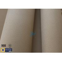 "Wholesale Brown Silica Fabric 1400℉ 1200G 1.3MM 36"" High Temp Insulation Blanket from china suppliers"