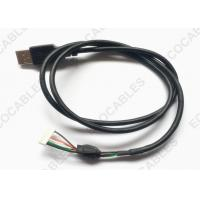 Wholesale UL2725 USB Cable Black PVC Jacket USB A male Cable With MLX 51004 Connector from china suppliers