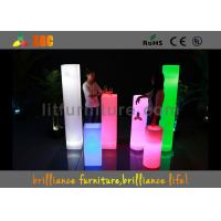 Wholesale LED Column & Wedding LED Pillars , illuminated pillars from china suppliers