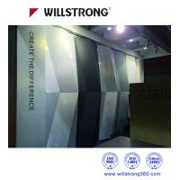 Wholesale Exterior PVDF 3D Wall Cladding ACP Aluminum Panel Curtain Wall In Chameleon Color from china suppliers