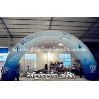 Buy cheap Standard Curved Inflatable Advertising Arch, Printing Inflatable Archway from wholesalers