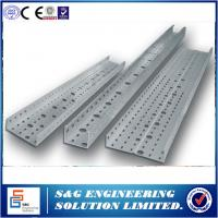 Wholesale 42t Punching Cable Tray Roll Forming Machine  0.6-1.2 Mm Thickness from china suppliers