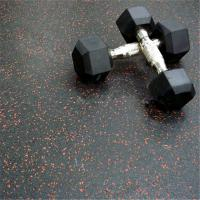 Wholesale Heavy duty large rubber gym black crossfit mat commercial flooring from china suppliers