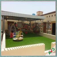 Wholesale Warm Green Color Soft Hand feeling but Strong Dence Turf Surface for Play Ground from china suppliers