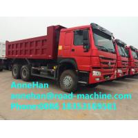 Wholesale Mining Industry Heavy Duty Dump Truck 336HP 6X4 RHD 30 Ton White / Red / Green from china suppliers