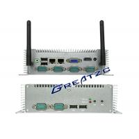 Wholesale I5 3337u CPU Mini PC Computer , 6 COM RS232 RS485 RS422 Small Industrial PC from china suppliers