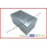 Wholesale Free sample Silver Hot Stamping promotion Gift Boxes for memorabilia from china suppliers