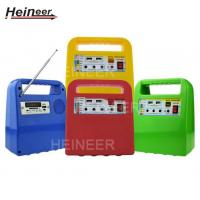 Wholesale DC power supply system, portable solar power system with USB output and LED light from china suppliers