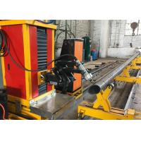 Wholesale with flame and plasma cutting mode stainless steel round pipe square pipe cutting machine from china suppliers