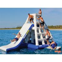 Wholesale Adults 3.7mH Inflatable Floating Water Slide EN71 Plato PVC For Parks from china suppliers