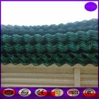 Wholesale Price 4.5mm Wire Diameter Powder Coating Chainlink Wire Mesh Fence from china suppliers