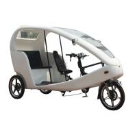 Wholesale White PAS Electric Bike 800 Watt brushless motor for passenger from china suppliers