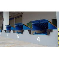 Wholesale 8 Ton Fixed Loading / Unloading Hydraulic Dock Leveler with High Strength Manganese Steel from china suppliers