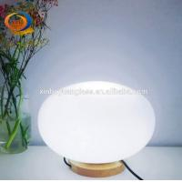 Buy cheap LED Glass Globe Ball Led Table Lamps modern living room led lamps from wholesalers