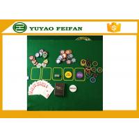 Quality Factory hot selling  Good quality plastic poker chip with numbers for sale