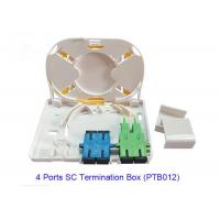 Wholesale 4 Port SC Fiber Optic Terminal Box PTB012 For FTTX Network RoHS Approved from china suppliers