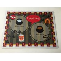 Wholesale Custom Decrative Rubber Desk Pad Pvc Laminated Placemats For Home from china suppliers