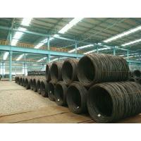 Wholesale Hot Rolled Wire Rod In Coils , Steel Wire Rod EA2  6.5 mm for welding electrode from china suppliers