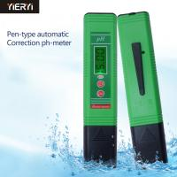Wholesale Water Quality Analysis Digital Ph Meter Device / Hydroponic Ph Tester For Aquarium Pool Water from china suppliers