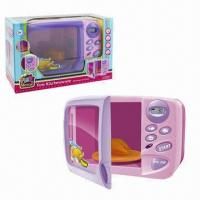 Wholesale B/O Kids' Plastic Toys, Microwave Oven, Sized 24 x 16 x 18cm from china suppliers