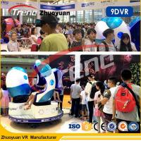 Wholesale Amusement Park 9D Virtual Reality Cinema 1 / 2 / 3 Seats With Interactive Games from china suppliers