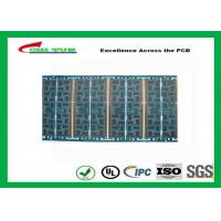 Wholesale Multilayer Quick Turn PCB Prototypes 4 layer FR4 1.2mm Blue Solder Mask Panel Size 160*80mm from china suppliers