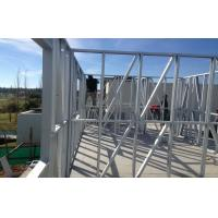 Quickly Assemble Prefabricated Villa , Two Floors Prefab Steel House With Long Lifetime