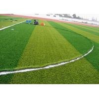 Buy cheap Green Waterproof Football Artificial Grass Durable 11000 Dtex 50 mm from wholesalers