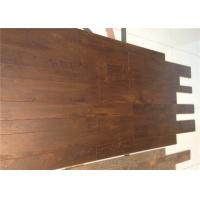 Wholesale Commercial / Living Room V groove Handscraped Laminate Flooring Oak Unilin Cilck from china suppliers