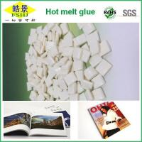 Wholesale EVA White Hot Melt Glue Pellets  Small Density And High Flexibility For Book And Magazine Printing from china suppliers
