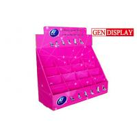 Buy cheap Shoes Counter Display Stands  , POP Cardboard Counter Display With Dividers from wholesalers