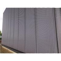 decorative aluminum expanded panel application in building