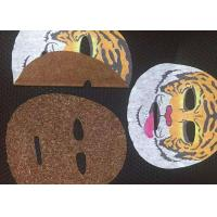 Wholesale Hygienic 45GSM 100% Rayon Compressed paper mask Facial Mask Sheet in White from china suppliers