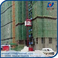 Wholesale SC100 Single Cage Building Hoist Residential Elevator Building Material And Workers from china suppliers