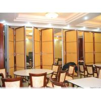 Wholesale Sound Insulation Folding Restaurant Partition Wall With Aluminum Frame from china suppliers