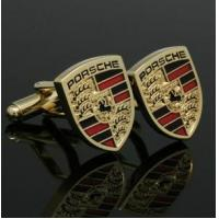 Wholesale wholesale PORSCHE Logo cuff link from china suppliers