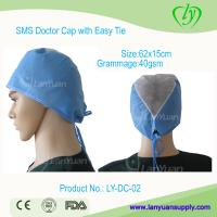 Wholesale Disposable SPP Doctor Cap with Easy Ties from china suppliers