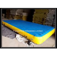Wholesale DWF Gym Payers Inflatable Gymnastics Mat  0.9mm PVC Tarpaulin from china suppliers