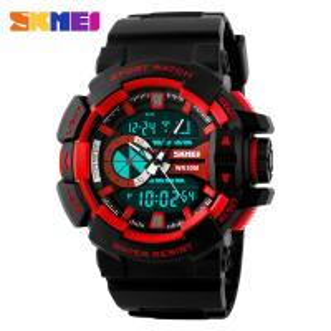 Buy cheap Men Big Dial Analog Digital Wrist Watch With Alarm Waterproof from wholesalers