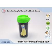 Wholesale Starbucks Cartoon Decoration Lovely Double Layer Plastic Cups With Lids from china suppliers