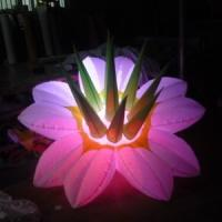 Wholesale 3 Meters Long White Inflatable Flowers For Decorative Advertising from china suppliers