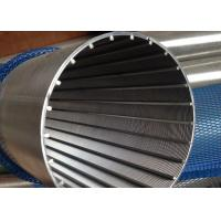 Wholesale 150 Micron Johnson Wedge Wire Screen SS304 / Wedge Wire Filter Mesh With 10S Profile from china suppliers