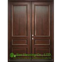 Wholesale Classic Double Leaf Solid Mahogany Wood Entry door For Villas/Apartment, Double Swing from china suppliers