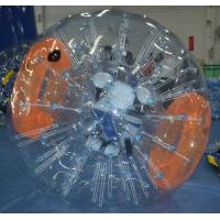 Wholesale Transparent Inflatable Zorb Ball , High Tensile Body Inflatable Bubble Ball from china suppliers