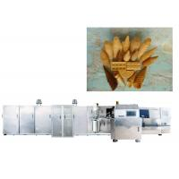 Wholesale Full Automatic Ice Cream Production Line For Making Waffle Cup / Bowl , CE Approved from china suppliers