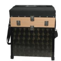 Wholesale 2 Story Wood Fishing Seat Boxes with 4 Wood Drawers STBX009 from china suppliers